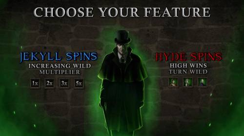 Jekyll & Hyde review on Review Slots