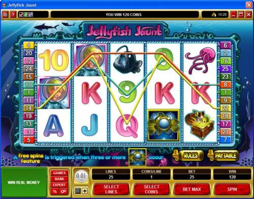 Jellyfish Jaunt review on Review Slots