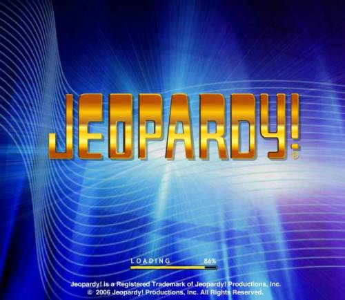 Jeopardy review on Review Slots