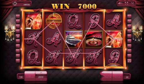 Jetsetter Review Slots Multiple winning paylines triggers a 7000 coin big win!