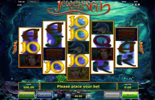 Jewels of the Sea review on Review Slots