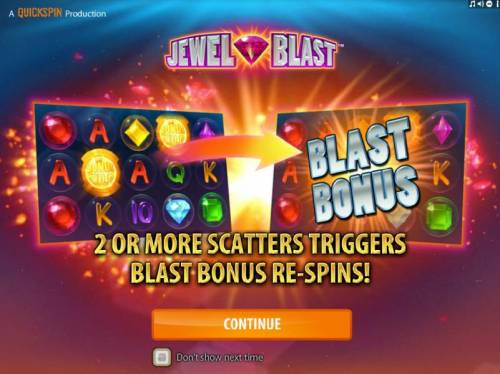 Jewel Blast review on Review Slots