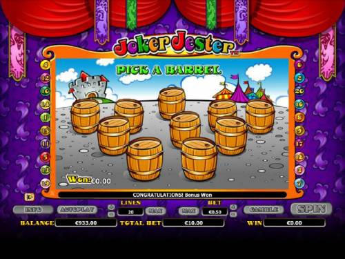 Joker Jester review on Review Slots