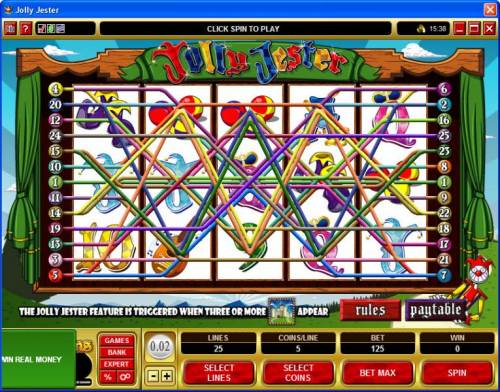 Jolly Jester review on Review Slots