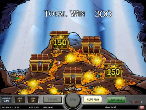 Jolly Roger Review Slots bonus feature pays out 300 coins
