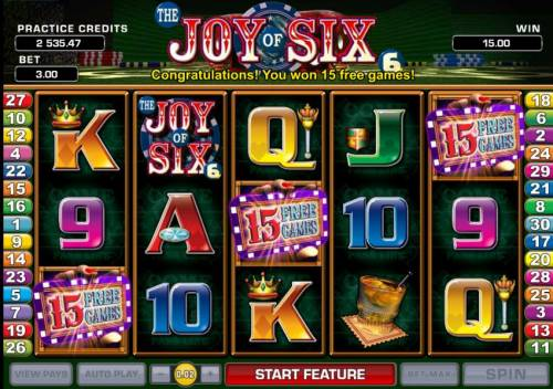 Joy of Six review on Review Slots