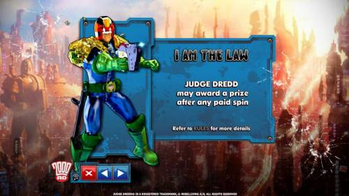 Judge Dredd review on Review Slots