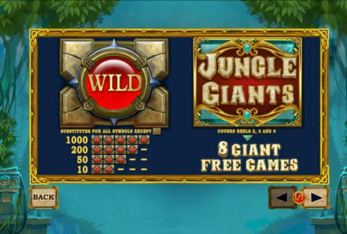 Jungle Giants Review Slots Wild and Scatter Symbols Rules and Pays