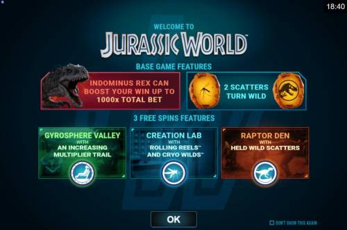 Jurassic World review on Review Slots