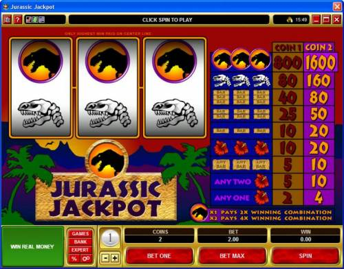 Jurassic Jackpot review on Review Slots