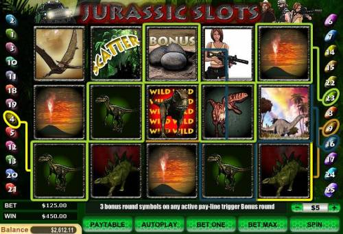Jurassic Slots review on Review Slots