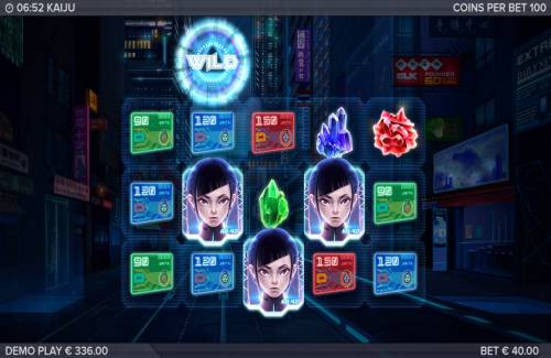 Kaiju Review Slots Scatter win triggers the free spins feature