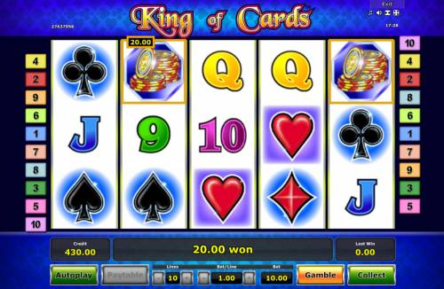 King of Cards Review Slots Two of a Kind