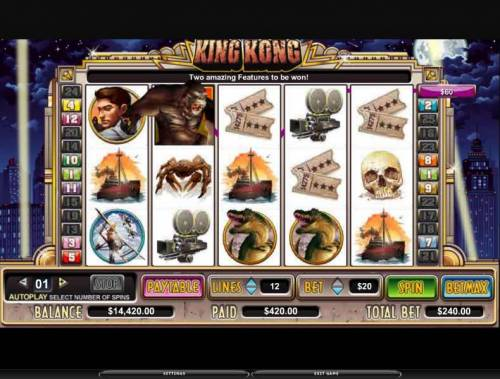 King Kong review on Review Slots