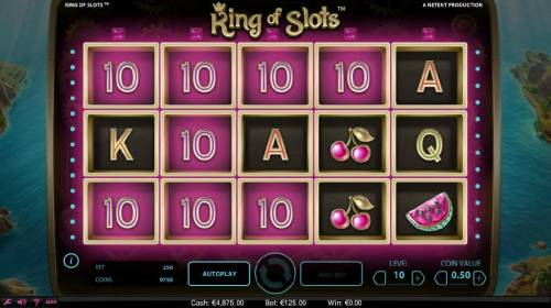 King of Slots Review Slots The Sticky Win feature will continue as long as additional winning combination are produced.