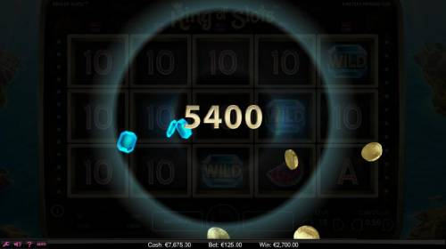 King of Slots Review Slots A 5,400 coin super win was triggered by the Sticky Win feature.