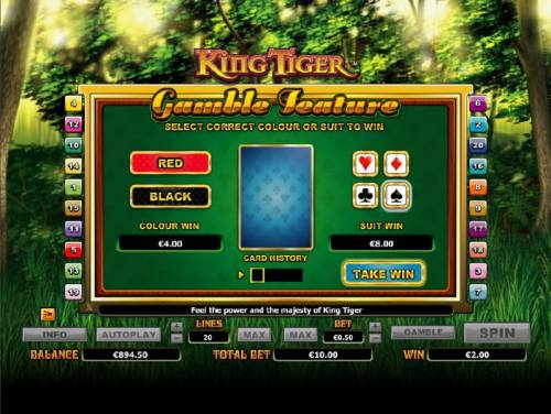 King Tiger review on Review Slots