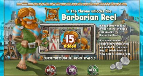 Kingdom of Wealth Review Slots Landing a Barbarian in the throne unlocks the Barbarian Reel.