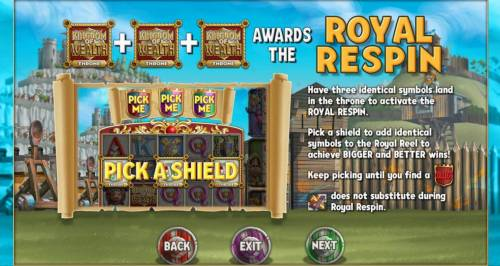 Kingdom of Wealth Review Slots Royal Respin Game Rules