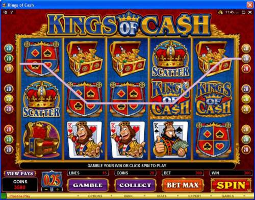Kings of Cash review on Review Slots