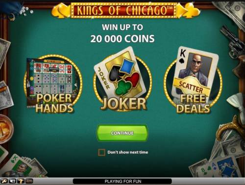 Kings of Chicago Review Slots win up to 20000 coins