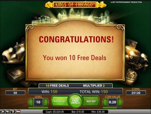 Kings of Chicago review on Review Slots