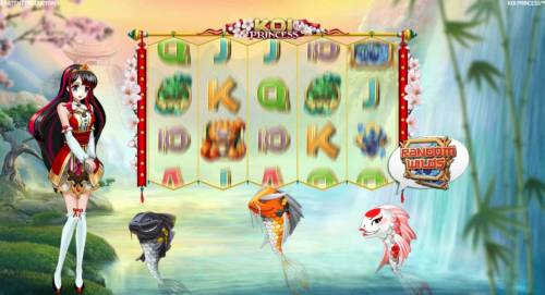 Koi Princess Review Slots Selection reveals the Random Wilds Feature.