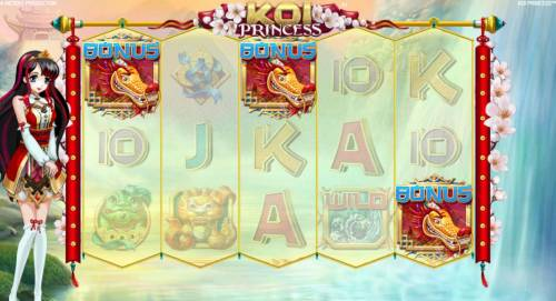 Koi Princess review on Review Slots
