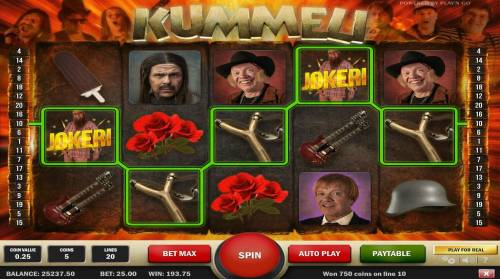 Kummeli Review Slots A winning Five of a Kind