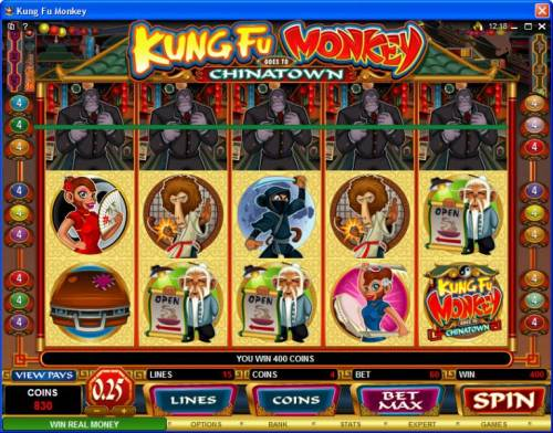 Kung Fu Monkey review on Review Slots