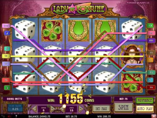 Lady of Fortune review on Review Slots