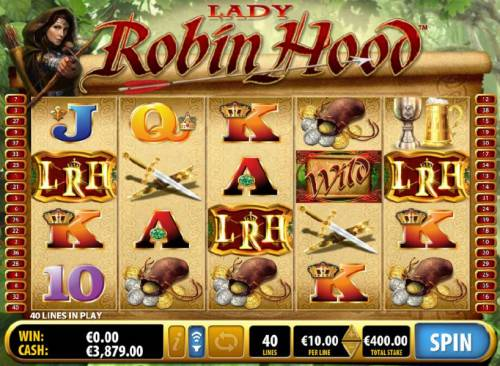 Lady Robin Hood Review Slots free games bonus feature triggered