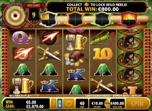 Lady Robin Hood Review Slots two additional arrows