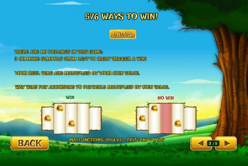 Land of Gold Review Slots 576 Ways to Win Rules