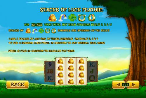 Land of Gold Review Slots Stacks of Luck Feature Rules
