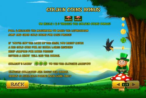 Land of Gold Review Slots Golden Coins Bonus Rules