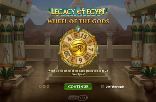 Legacy of Egypt Review Slots Introduction