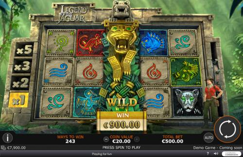 Legend of the Jaguar review on Review Slots
