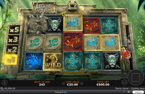 Legend of the Jaguar Review Slots Winning combinations are removed from the reels and new symbols drop in place