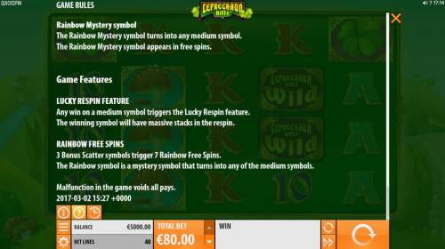 Leprechaun Hills review on Review Slots