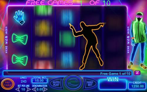 Light Dance Review Slots Free Spins Game Board