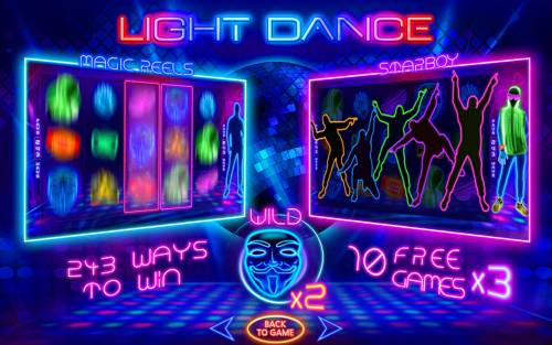Light Dance Review Slots Introduction