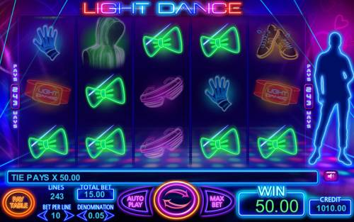 Light Dance Review Slots Multiple winning paylines