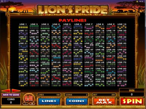 Lion's Pride review on Review Slots