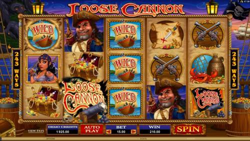Loose Cannon review on Review Slots