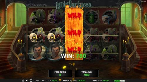 Lord of Darkness Review Slots Free Spins Game Board