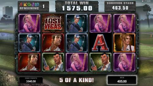 Lost Vegas review on Review Slots