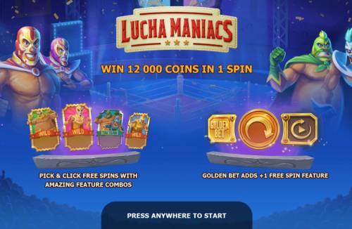 Lucha Maniacs Review Slots Introduction