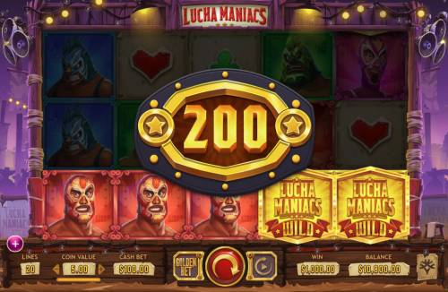 Lucha Maniacs Review Slots 5 of a Kind