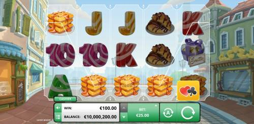 Lucky Bakery Review Slots A winning four of kind
